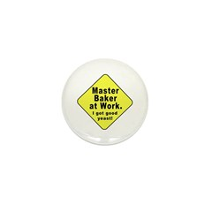 Dad-To-Be:Master Baker! Mini Button (100 pack)