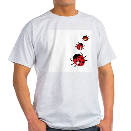 Ladybugs Ash Grey T-Shirt