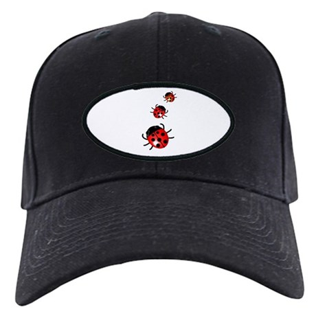 Ladybugs Black Cap