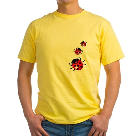 Ladybugs Yellow T-Shirt