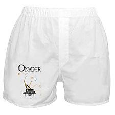 2-Onager machine, name,  website Boxer Shorts