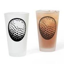 Golf Ball 01 Drinking Glass