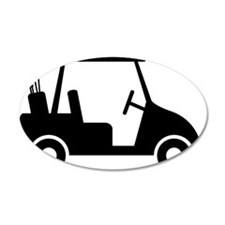 Golf Cart 01 Wall Decal