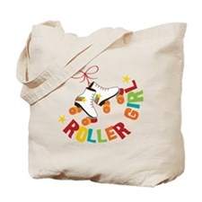 Roller Skate Girl Tote Bag