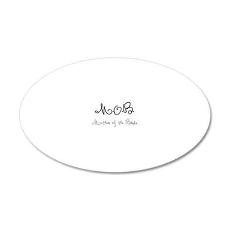 MOB 20x12 Oval Wall Decal