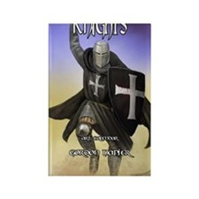 Hospitaller cal cov Rectangle Magnet