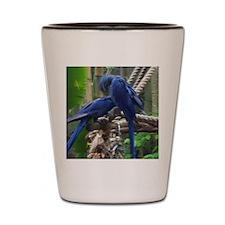 blue love2~4 Shot Glass