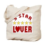 5 Star Lover Tote Bag