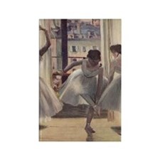 Degas1 Rectangle Magnet