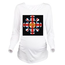 CBC_UK_V2 Long Sleeve Maternity T-Shirt