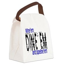 WINEEM copy Canvas Lunch Bag