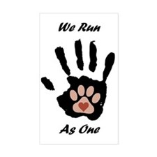 We run1 Decal