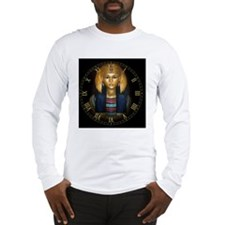 2-egyptian sarcophagus clock Long Sleeve T-Shirt