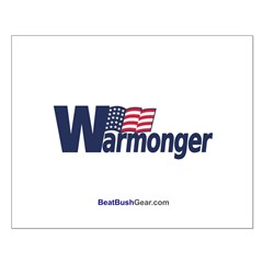 """Warmonger"" Small Poster"