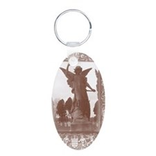 dramatic angel card Keychains