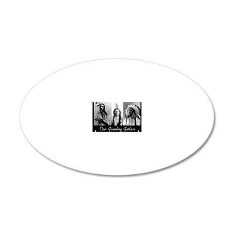 real founders 20x12 Oval Wall Decal