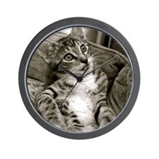 MaisyCat Wall Clock
