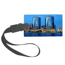 Dubai Twin Towers Luggage Tag