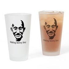 2-gandhisexybigdark Drinking Glass