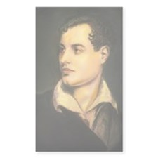 byron portrait coloured Decal