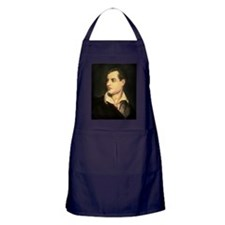 byron portrait coloured Apron (dark)