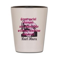karl_marx_women_1 Shot Glass