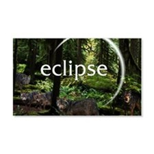 Eclipse Hidden Wolfes Wall Decal