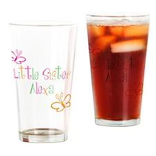 littleSisterAlexa Drinking Glass