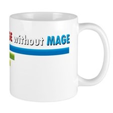 Cant Spell Damage without Mage WoW T-Sh Mug