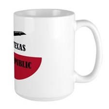2-Texas Republic (oval) Mug