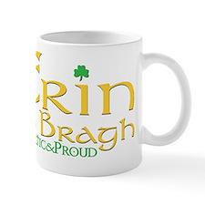 CelticProud_ErinGoBragh_T10x10 Mug