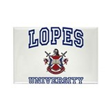 LOPES University Rectangle Magnet