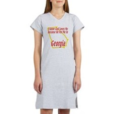 Georgia - God Loves Me Women's Nightshirt