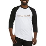 Manure Occureth Baseball Jersey