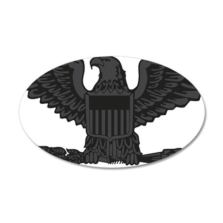 USAF-Col-Subdued-2 35x21 Oval Wall Decal