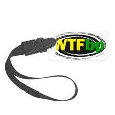 FIN-wtf-bp-CROP Luggage Tag