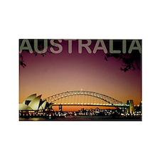 australia14 Rectangle Magnet