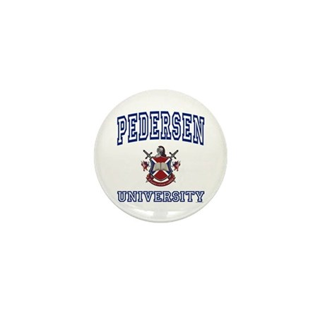 PEDERSEN University Mini Button