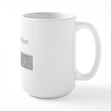 Save the date silver Ncard Mug