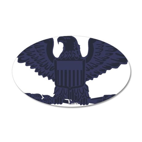 USAF-Col-Subdued-Blue-3 35x21 Oval Wall Decal