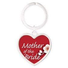 2-button_motherBride Heart Keychain
