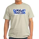 KawasakiTrax.com Logo Ash Grey T-Shirt