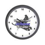 Snowmobile Theme Wall Clock