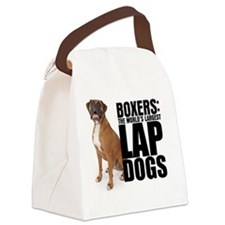 lapdog Canvas Lunch Bag