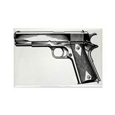Colt 1911 Rectangle Magnet