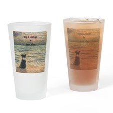 lulu cal Good morning, morning w wo Drinking Glass