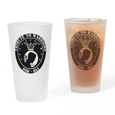 TRIBUTE TO WARRIORS RUN POW MIA Drinking Glass