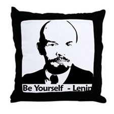 beyurselflenninbiger Throw Pillow