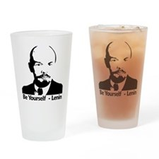 beyurselflenninbiger Drinking Glass