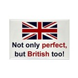 Perfect British Rectangle Magnet (10 pack)